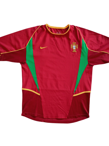 Portugal Home 2002 World Cup M - Unwanted FC