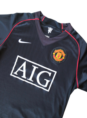 Manchester United Away 2007-2008 S - Unwanted FC