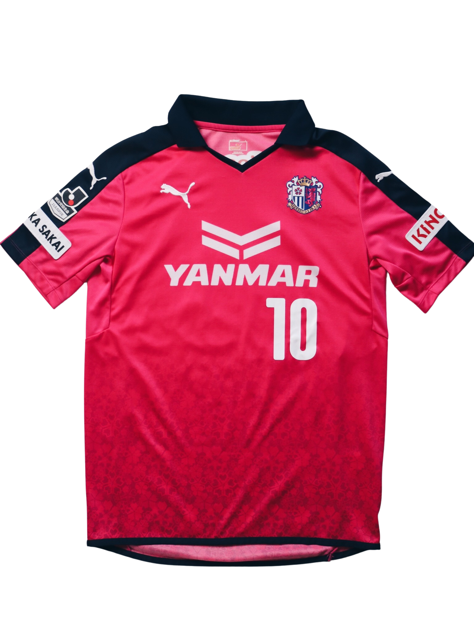 Cerezo Osaka Home #10 Forlan 2014-2015 L - Unwanted FC