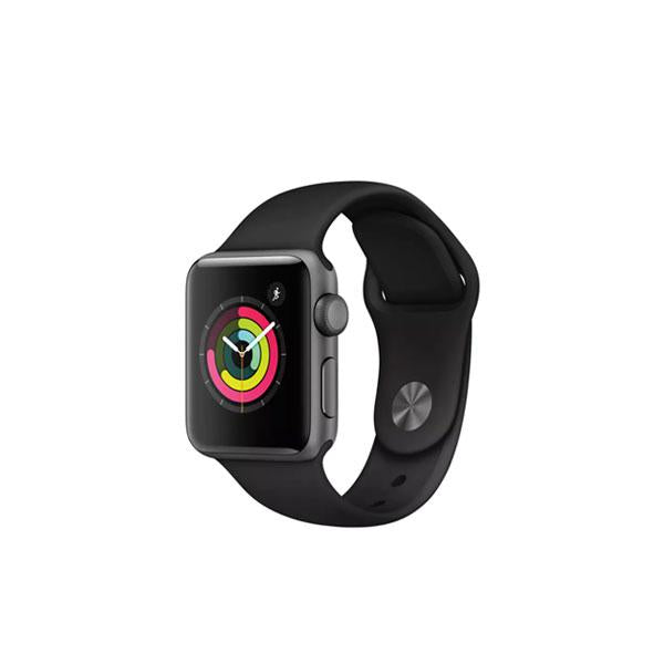 Apple Watch Series 3 GPS - 38mm - Space Grey Aluminium - Black Sport Band