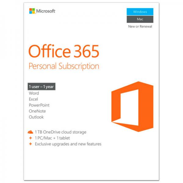 Microsoft Office 365 Personal Subscription
