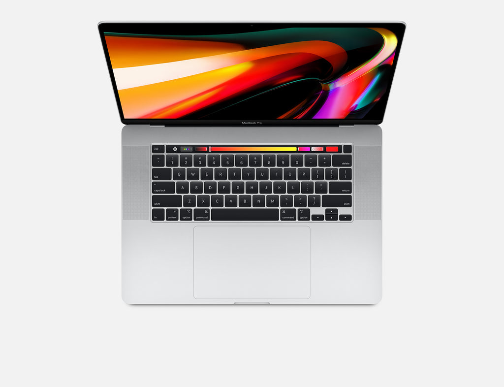 16-inch MacBook Pro with Touch Bar 2.3GHz 8-core 9th generation Intel Core i9 processor 1TB Silver