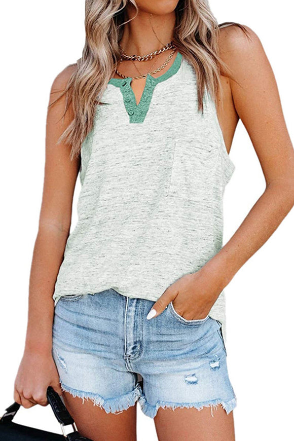 Green Button Tank