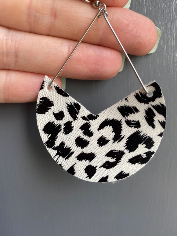 Snow Leopard Dangle