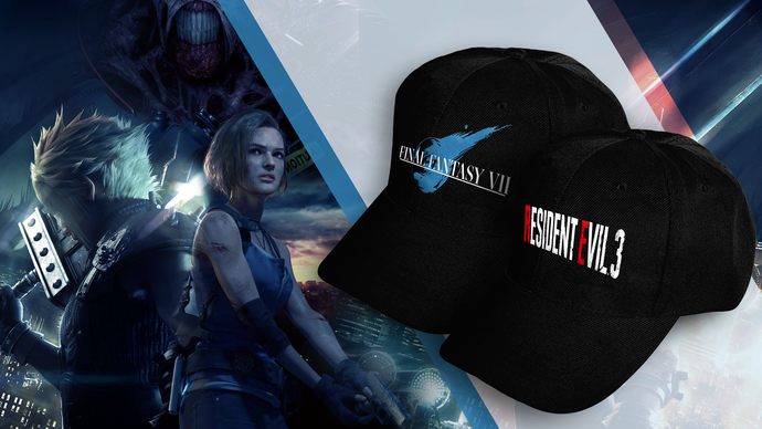 Gamers Gear Launches Limited Edition Resident Evil 3 and Final Fantasy VII Caps