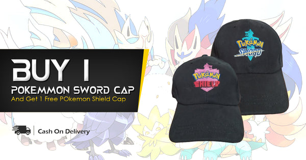 Pokemon Sword and Shield Cap