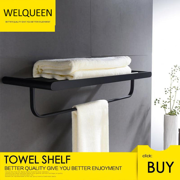 Free Shipping 304 Stainless Steel Fashion Innovation Quality Wall Mounted Towel Rail Kitchen Bathroom Towel Rack - WELQUEEN