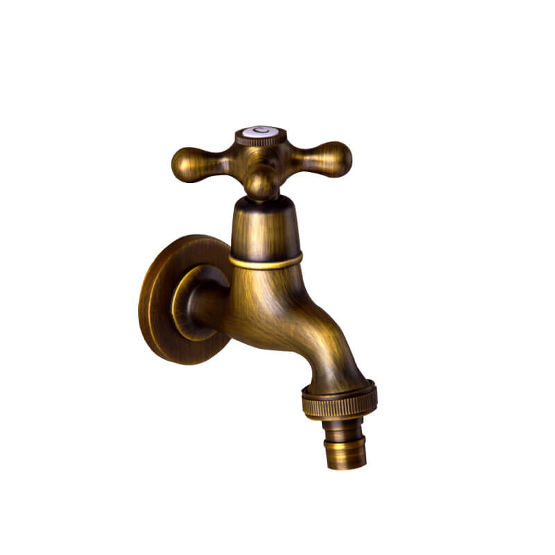 Antique Bib Tap | Classical Washing Machine Faucet Mop Pool Faucet - WELQUEEN