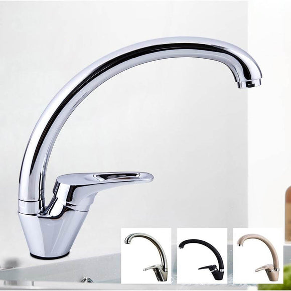 Basin Faucet Bathroom Tap Basin Mixer 5 Color Sink Faucet Tap Chrome Waterfall Faucet Tap Washbasin Bath Faucet Brass Mixer - WELQUEEN