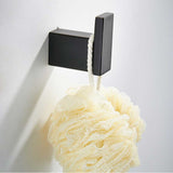 Bathroom Hardware Set Matte Black Paper Holder Towel Rail Rack Robe Hook Toilet Brush Holder Bathroom Accessories - WELQUEEN