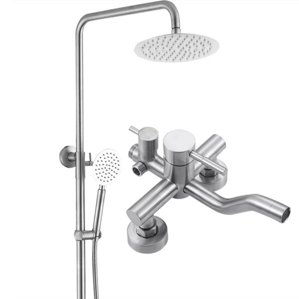 Shower Faucets | Top Quality Bathroom Shower Column Set | SUS304 Bath Shower Mixer System - WELQUEEN