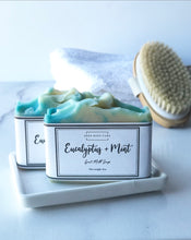 Load image into Gallery viewer, Eucalyptus & Mint Goat Milk Soap