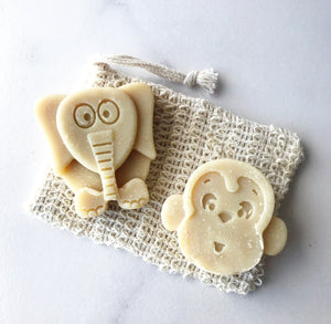 Kid's Animal Soaps - Oatmeal + Honey