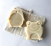 Load image into Gallery viewer, Kid's Animal Soaps - Oatmeal + Honey