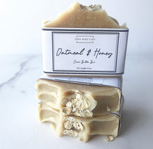 Load image into Gallery viewer, Oatmeal & Honey Goat Milk Soap