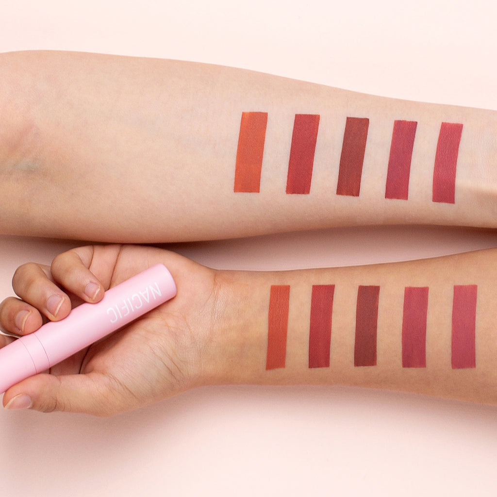 Nacific Daily Mood Lip Cream 1+1 Set (Choose Your Color!)