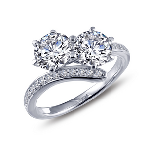 Two-Stone Engagement Rring