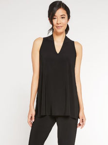 Sympli Sleeveless Deep V Tunic 2117