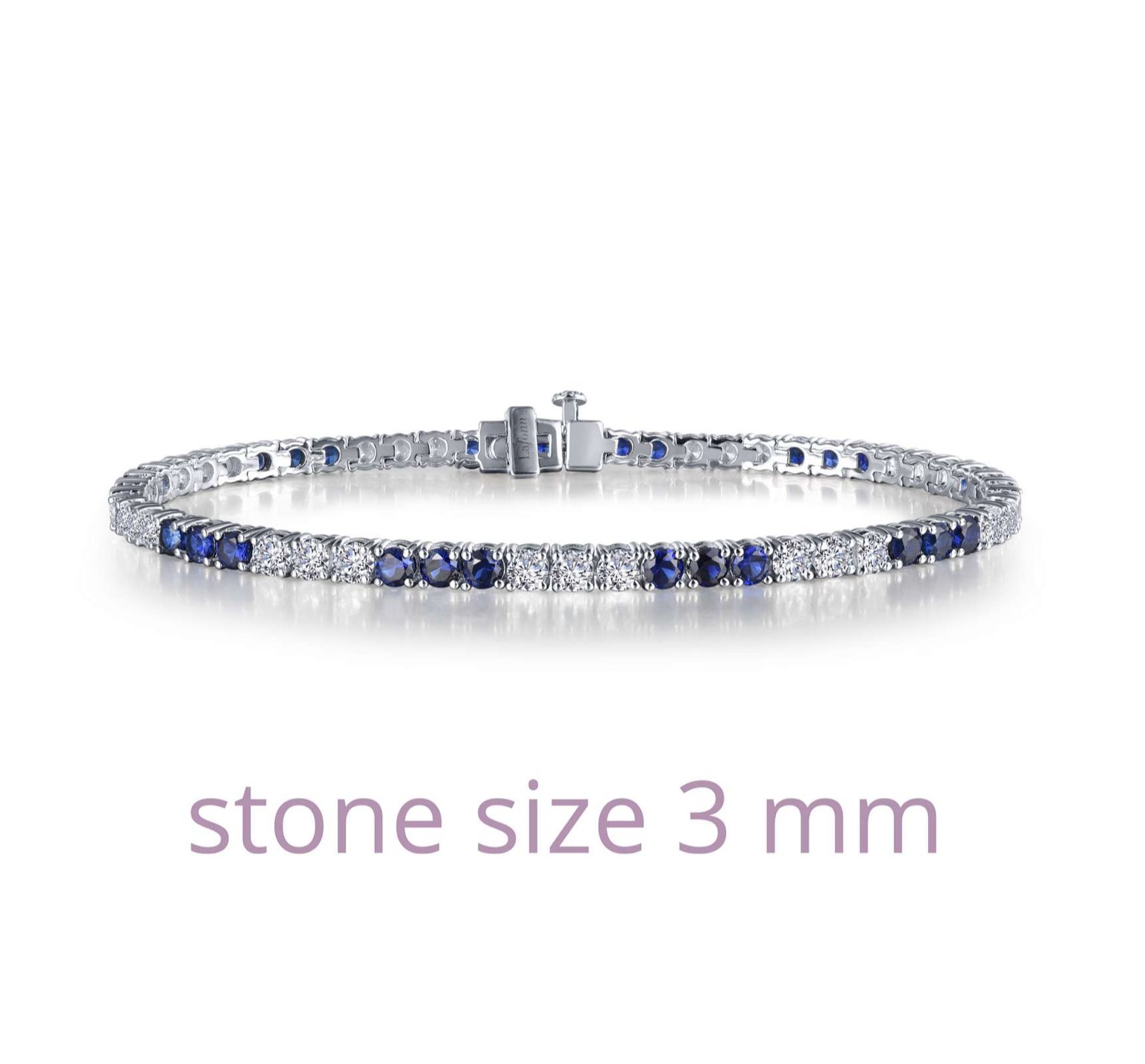 ALTERNATING TENNIS BRACELET