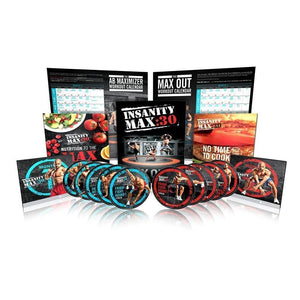 INSANITY MAX:30 by Shaun T 10 DVDs Workout