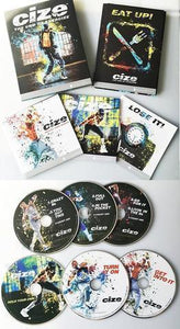 CIZE Dance Workout - 6 DVD Workout Deluxe Kit