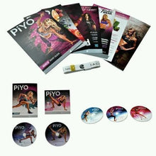 Load image into Gallery viewer, PIYO 5 DVD Workout With All Guides