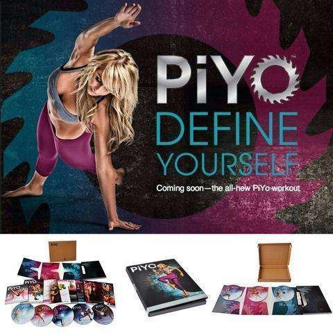 PIYO 5 DVD Workout With All Guides