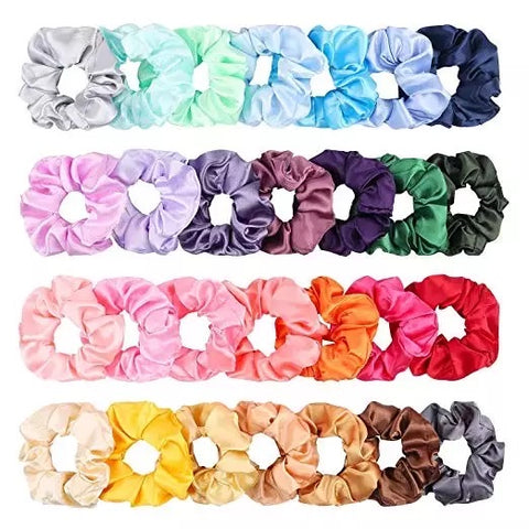 Satin Scrunchies - Luxe Her Afro & European Hair Care