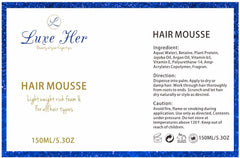 Luxe Her Curl Mousse - Luxe Her Afro & European Hair Care