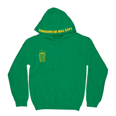 Thoughts About Doja Hoodie - Green
