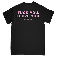 I Love You Tee - Black