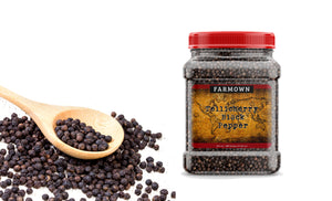 Farmown Tellicherry Black Pepper TGSEB Extra Bold 500 Grams