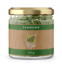 Load image into Gallery viewer, FarmOwn Green Cardamom (Elaichi) Whole Premium Extra Bold 8mm 50 Grams