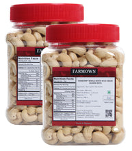 Load image into Gallery viewer, FarmOwn Whole Cashew Nut W320 Regular Size Cashews Kaju 1Kg