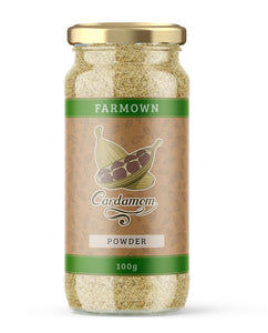 FarmOwn Green Cardamom Powder 100 Grams