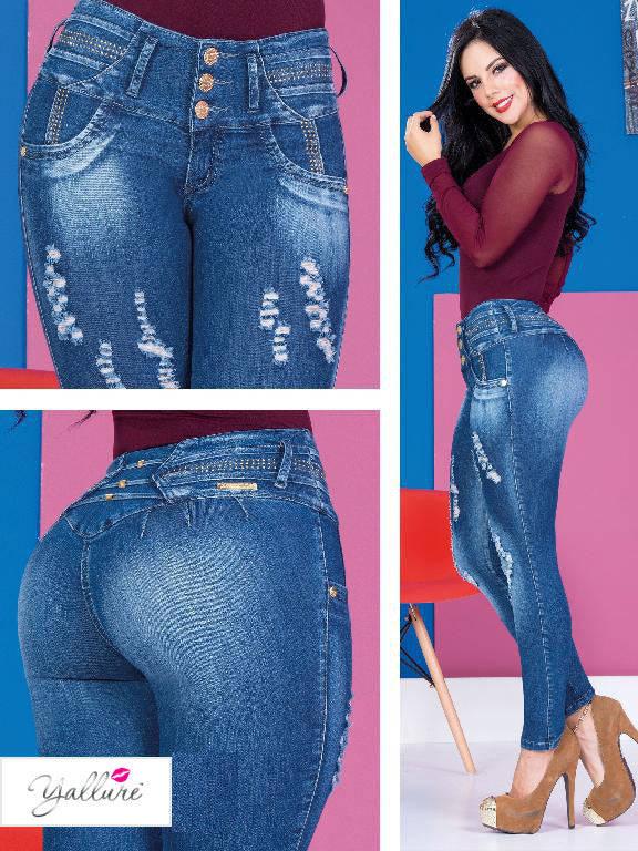 Classic Butt Lift Jeans Style