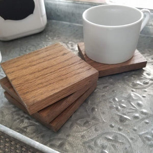 Oak Coasters (Set of 4)