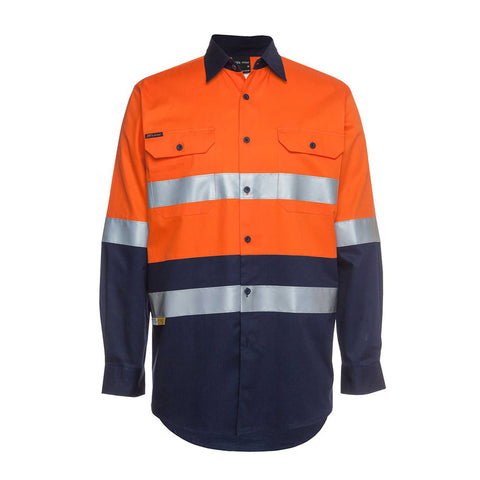 HI VIS 150G SHIRT L/S TAPED