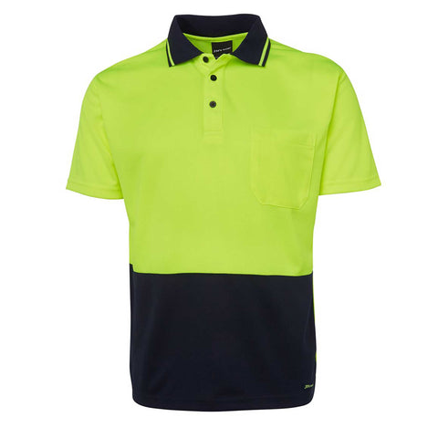 HI VIS TRADITIONAL POLO S/S