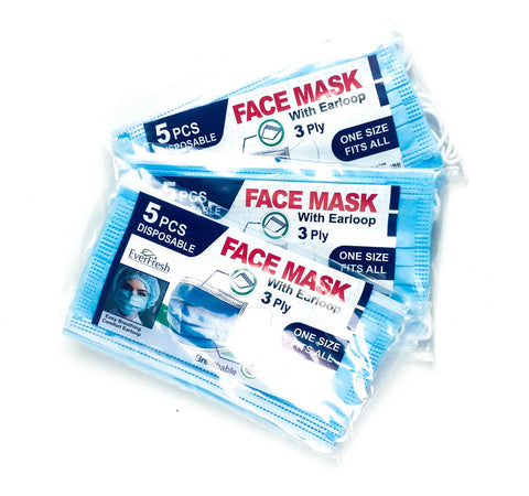 3 x Breathable Face Mask Value Pack