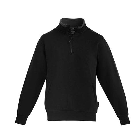 1/4 ZIP BRUSHED FLEECE