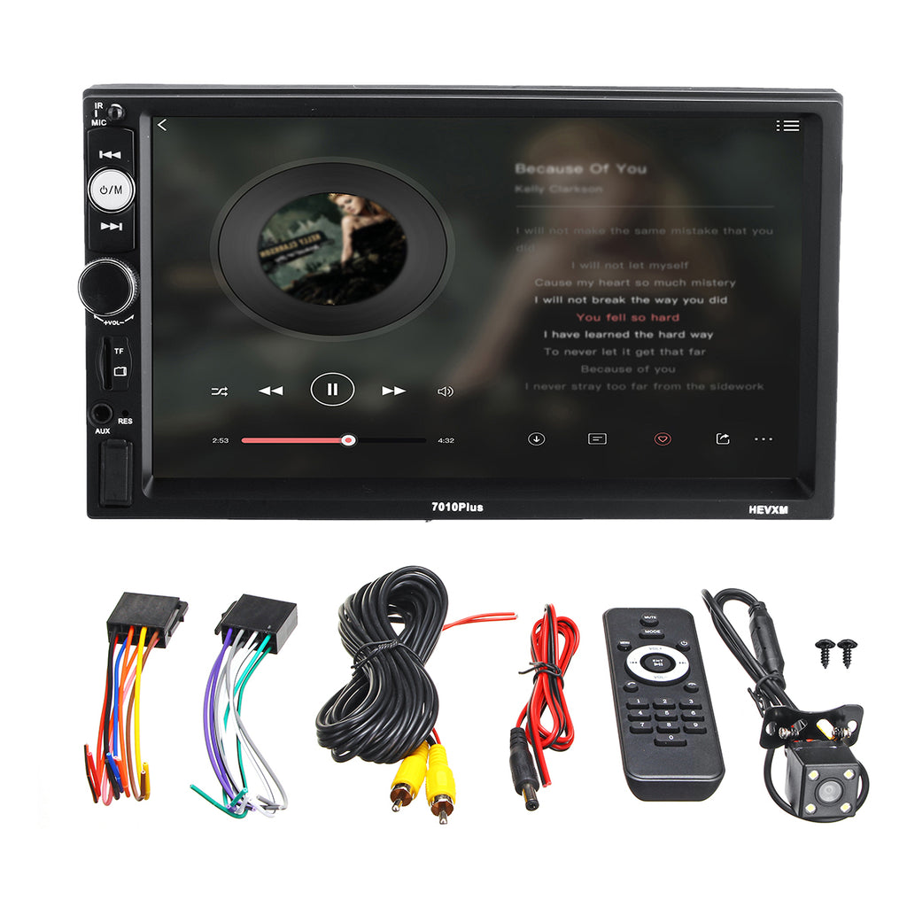 7 Inch Touch Car MP5 Player bluetooth Stereo FM Radio USB TF AUX