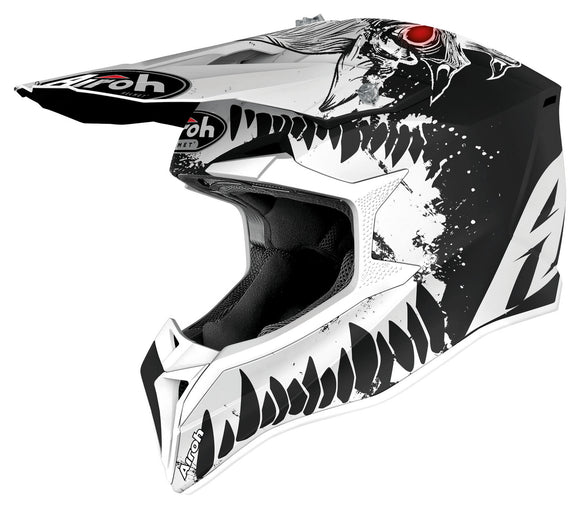 Airoh Wraap Beast MATT BLACK/WHITE