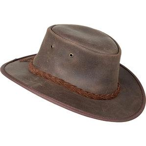 Barmah Hats Leather Hat