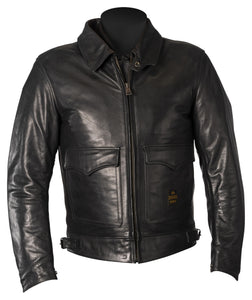 Helstons Bill Natural Leatherjacket