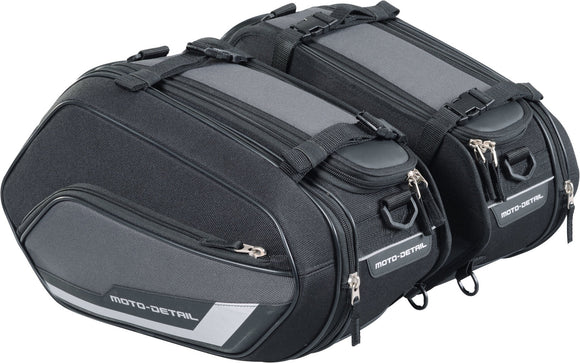 SET GENTI LATERALE TEXTIL EXTENSIBILE Moto-Detail Saddlebags