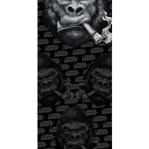 LETHAL THREAT MULTISCARF GORILLA BLACK