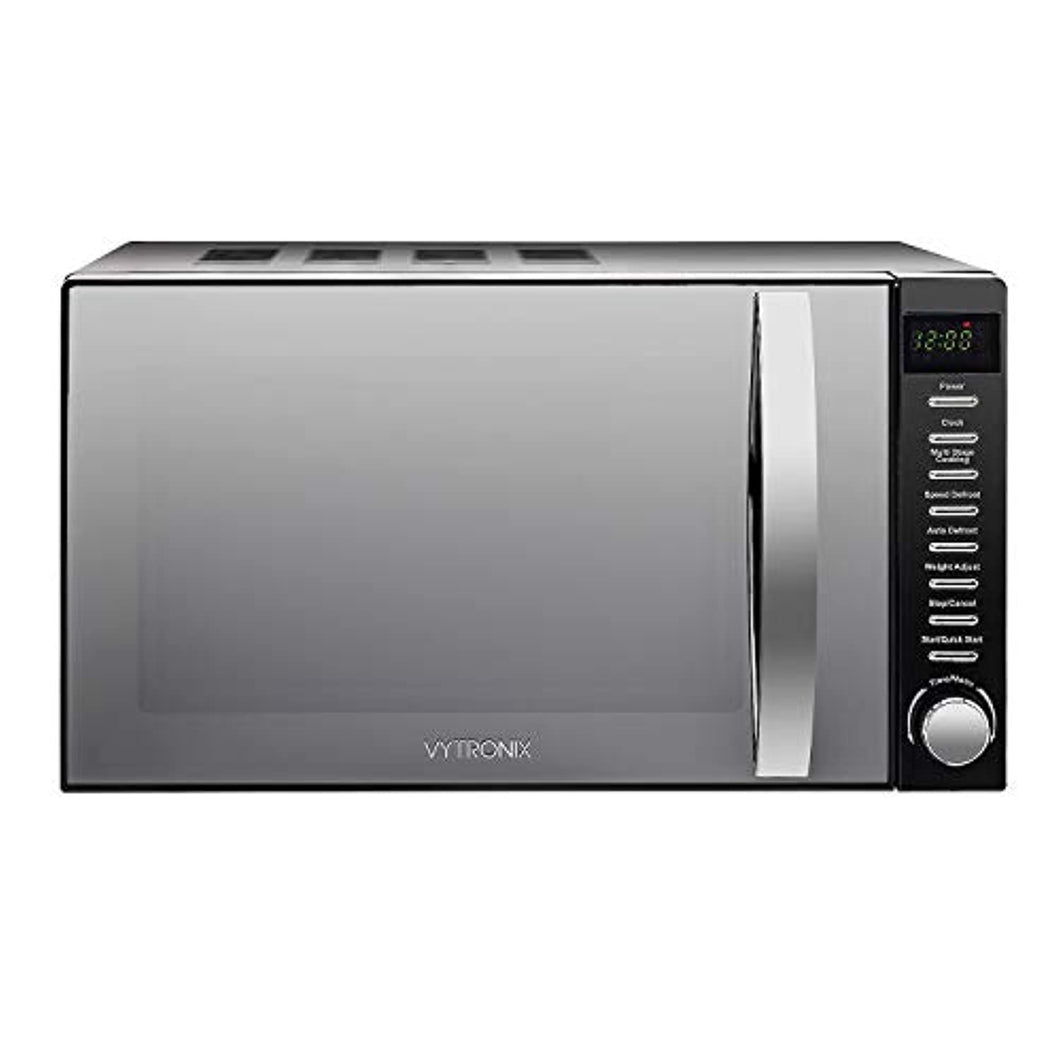 Digital Microwave Oven 800W 20L 5 Power Levels Freestanding Solo Black - iBuy Africa