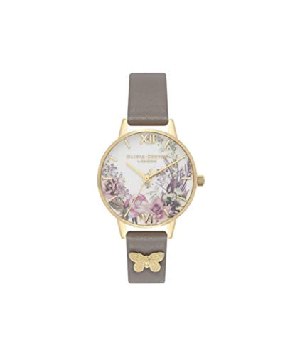 Olivia Burton Women's Analogue Japanese Quartz Watch with Plastic Strap OB16EG109 - iBuy Africa