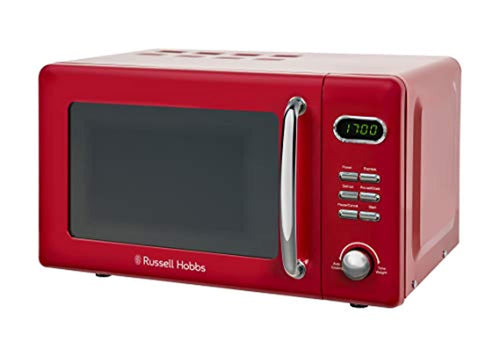 Russell Hobbs Solo Microwave, Red, 17 liters - iBuy Africa